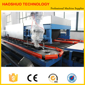 Polyurethane (PU) Panel Production Line Rubber Conveyer type