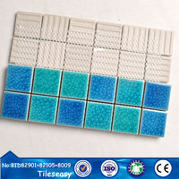 china standard size mosaic designs ceramic floor mosaic for garden
