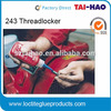 free samples loctit 243 liquid thread locker - blue threadlock - screw thread locker liquid acrylic sealant