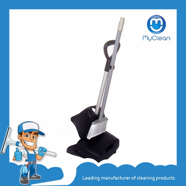 cheap broom flat dustpan set for sale