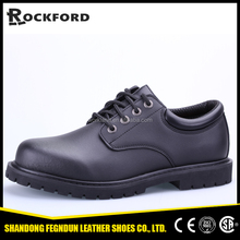 black steel men acid resistant genuine leather safety shoes for business men FD3311