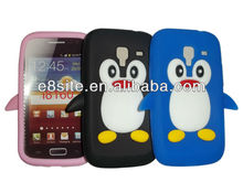Penguin Silicone Case For SamSung i8160 Galaxy Ace 2