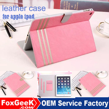 New Fancy cover for ipad 2, air,air2 anti-shock case for ipad 2 with high quality leather with stand for reading and movies