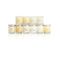 Group of Pure Essential Oils Hand Poured Scented Nature Soy Wax Candle