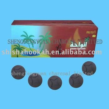 hookah charcoal tablets