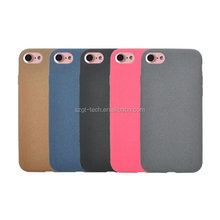 Colorful TPU Gel leather Soft Back Mobile Phone Case For iPhone 7