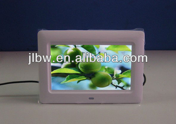battery operated digital photo frame 7 inch