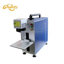 10W 20W Portable Fiber Laser Marking Machines For Metal Fiber Laser Marker