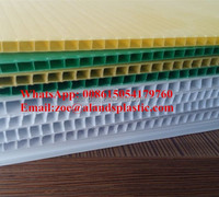 Fluted Corrugated Plastic PP sheets/Polypropylene Double-Wall Hollow Sheet