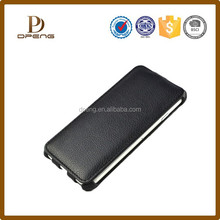 New products up and down genuine leather 4 inch phone case
