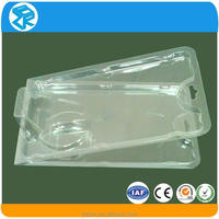 Durable beauty plastic cosmetic display case and box packaging
