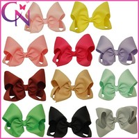 "8""Wholesale Knot Solid Large Hair Bow With Alligator Clip CNHBW-13081913"