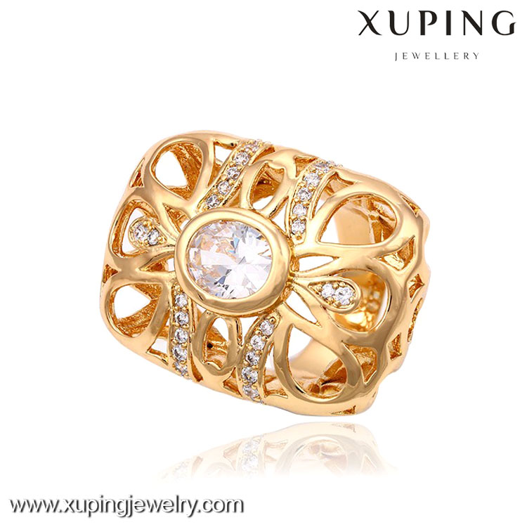 13290-Xuping Exaggeration Dazzling Jewellery Imitation Ring For Engagement