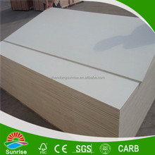 formaldehyde free whiten poplar face veneer plywood from shandong
