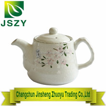 Sakura hand-painted porcelain tea set,gift packing ceramic teapot at sale 1teapot with 5 cups