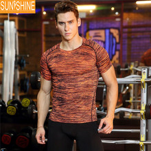 Gym muscleTraining wear Fit stretch fitness wear men tank top