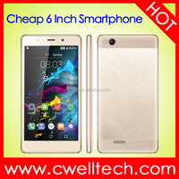 C10 Metal CNC Android SC7731 Touch Phone Smart Mobile Phone With VO-COM Frame 3G WCDMA 6.0 inch Dual Core 512MB RAM 4GB ROM