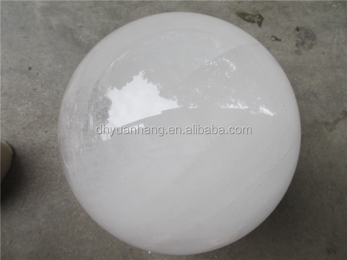 Large sized natural full white crystal healing balls ,rock clear quartz crystal sphere