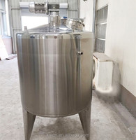 1200Litre steam heating jacket tank with scrapper mixer