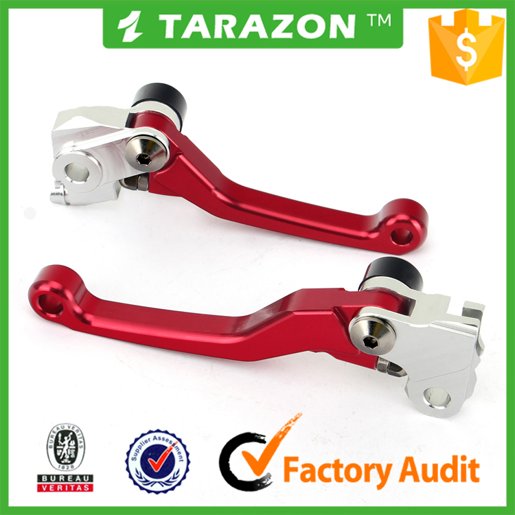 CNC Machined adjustable motorcycle brake clutch lever for honda CRF 250R