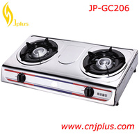 JP-GC206 Lowest Price Tempered Glass Butterfly Gas Stove