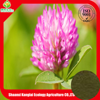 110% natural Red Clover Extract Isoflavone 8% ISO9001 GMP good price