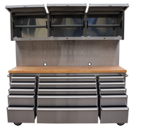 heavy duty cabinet stainless steel truck tool box Tool Chest Roller Cabinet