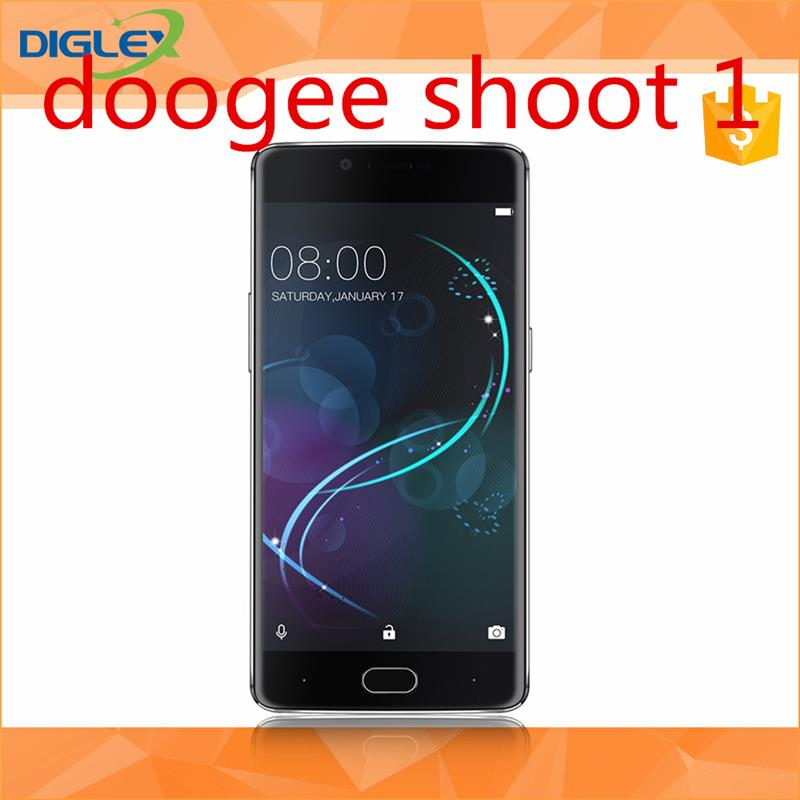 [HK Stock][Official Global ROM] best quality new doogee shoot 1 for wholesales Android 7.0 black/gold/silver mobile phone