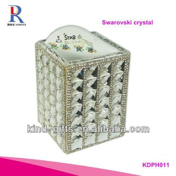 2014 Pop Bling Rhinestone Pen Stand With Crystal China Factory