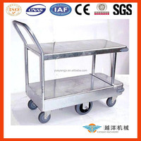 Galvanize Stock Hand Trolley Cart With