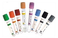 1-10 ml glass / PET Disposable vacuum blood test tube, Chinese manufacturer