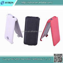 Hot forming flip mobile phone leather case for Htc Desire 601