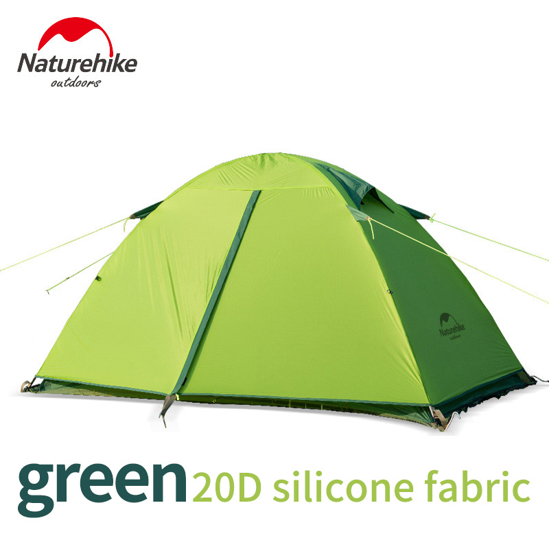 Naturehike nature hike ultra light silicone 20D aluminum pole 1-2 man waterproof outdoor camping tent