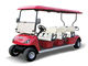 Hot sale 4 wheel 6 seat electric golf cart with CE,6 Seater electric aluminum golf cart