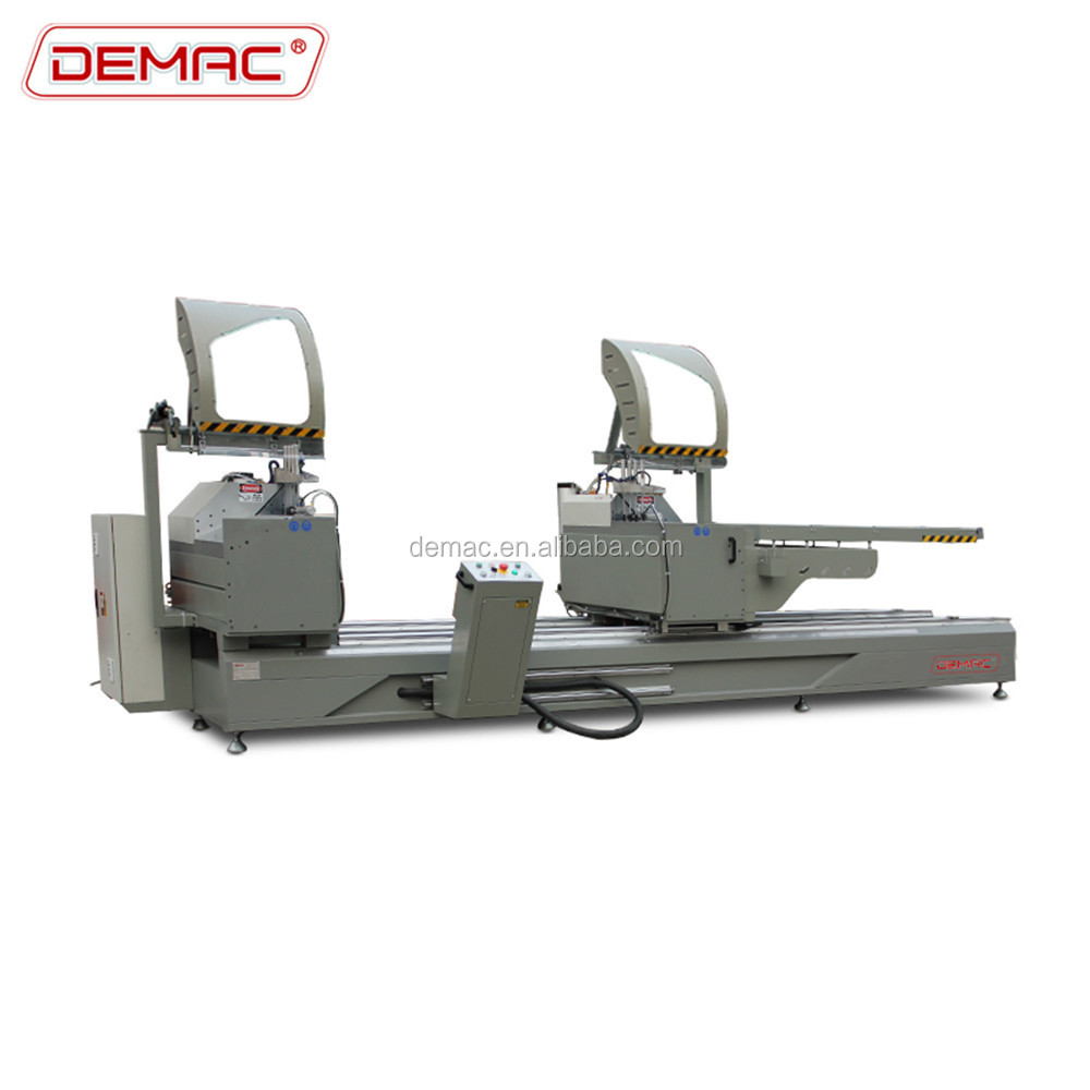 DEMAC High precision Double head aluminum profile 45 degree angle cutter
