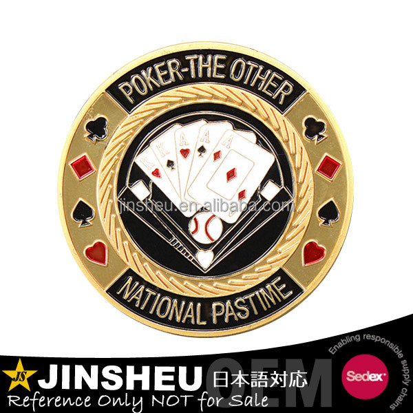 Wholesale high quality round cheap custom metal poker chips