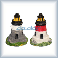 Hand made Lanscape lighting twin tower model,architectural lighting model tower, miniature electric tower