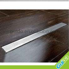 700mm S/S Bathroom Linear Square Floor Waste Drain Shower Grate With Waste Trap
