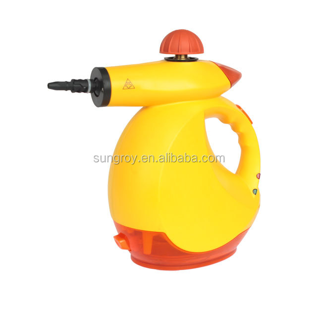 SUNGROY portable magic steam cleaner VSC38A, jet steam cleaner, handheld steam cleaner for window, kitchen, bathroom.