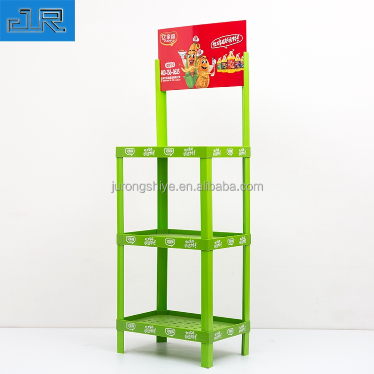 High quality custom plastic durable home decor display shelves