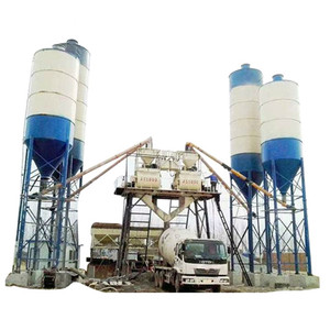 HZS50 concrete mixing plant machine concrete batching plant