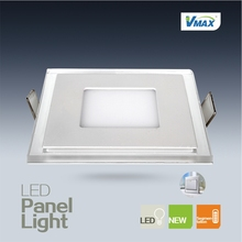 hot selling white and blue 7+1W sectional square shape led panel lamp&ceiling decoration lighting fixtures