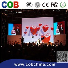 P3.91/P4.81/P.5.68/P6.25 indoor mobile rental LED display board for stage background