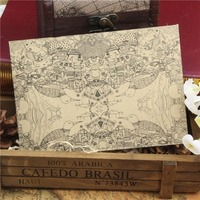 Creative design luxury printing board backed envelope