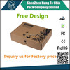 China Factory Free Sample custom size cardboard parcel box