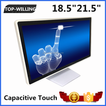 "New White Color 18.5"" Capacitive Touch Panel Desktop LED Medical Monitor"