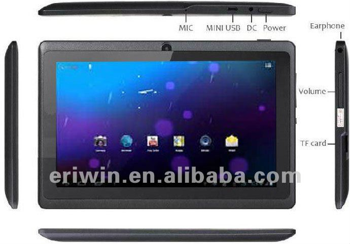 ZX-MD7001 New super slim 7 inch A13 android 4.0 rugged tablet pc