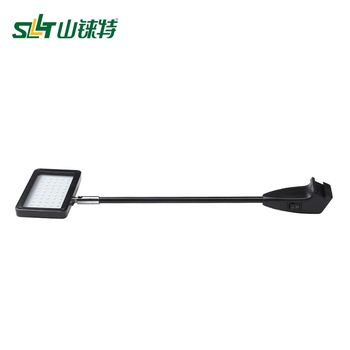 2300LM super bright best price exhibition display led long arm light with clamp