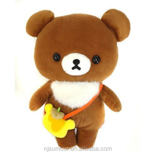 NEW Soft Stuffed Toy San-X Brown Bear XL Size Plush Doll Christmas