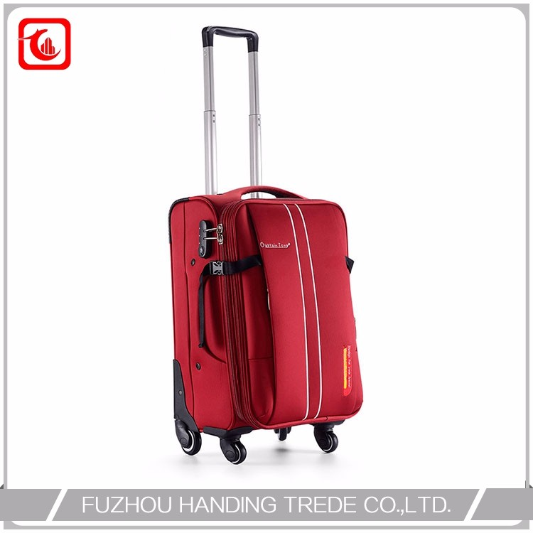 Custom Nylon Purple Time Kid Travel Trolley Bag In Guangzhou